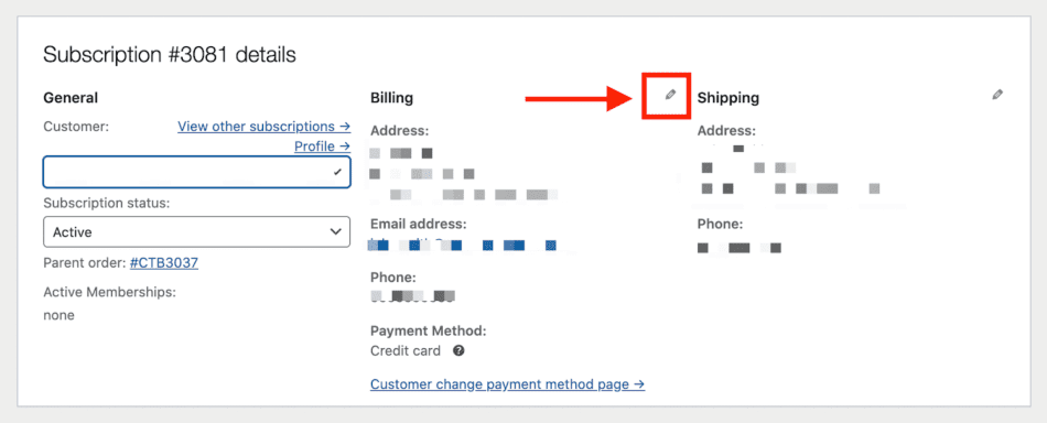 Store Manager payment method changes